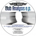 DJ DEAN - CLUB ANALYSIS E.P.